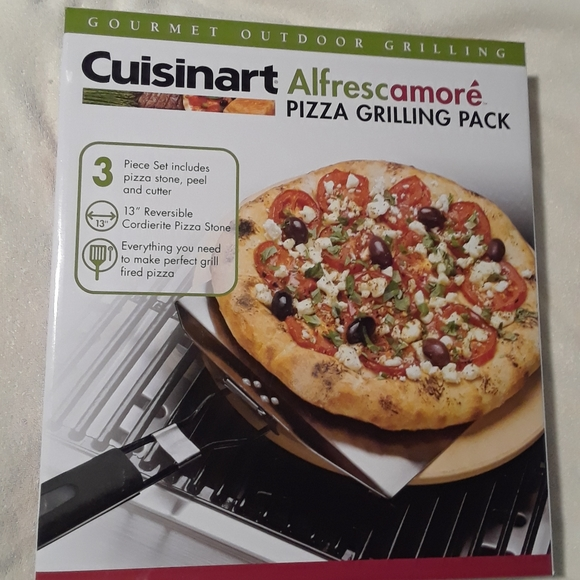 Cuisinart pizza grilling pack